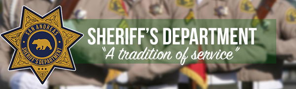 San Andreas Sheriff Department